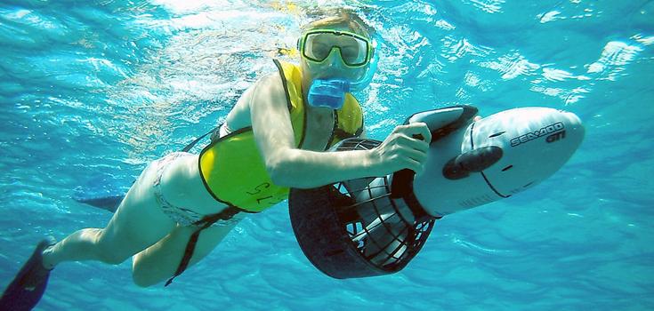Bahamas Adventure Power Snorkel
