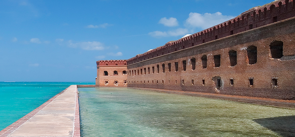 The Dry Tortugas National Park
