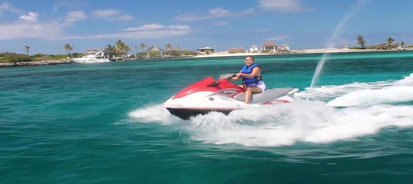 Paradise Ocean Snorkel and Jet Ski Combo