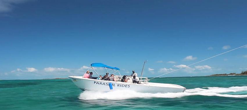 Paradise Ocean Snorkel and Parasailing Combo