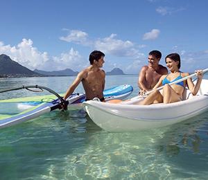 Bahamas Adventure Glass Bottom Kayak