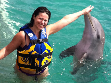 Cancun - Dolphin Royal Swim VIP