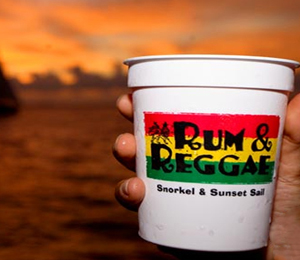 Rum and Reggae - Sunset & Snorkel Combo