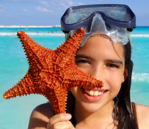 Starfish and Stingray City Snorkel Adventure