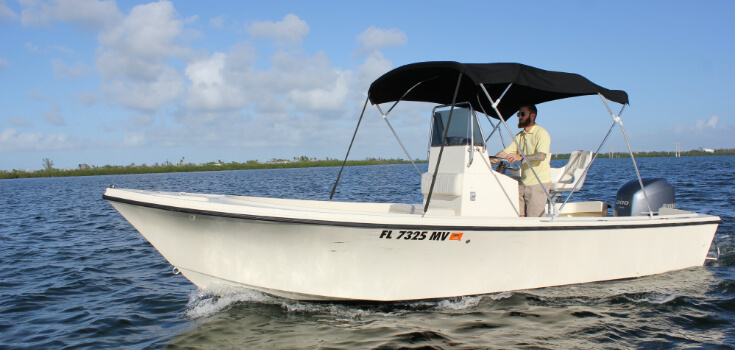 22 Foot Parker Center Console Boat Rental