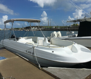 26 Foot Deck Boat Rental