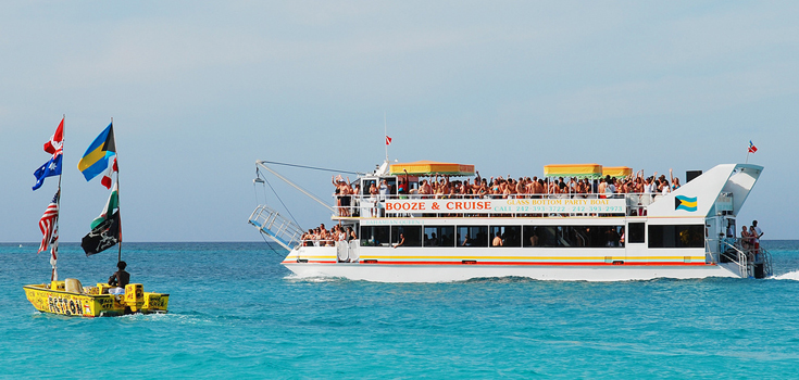 Bahamas Booze Cruise and Snorkel