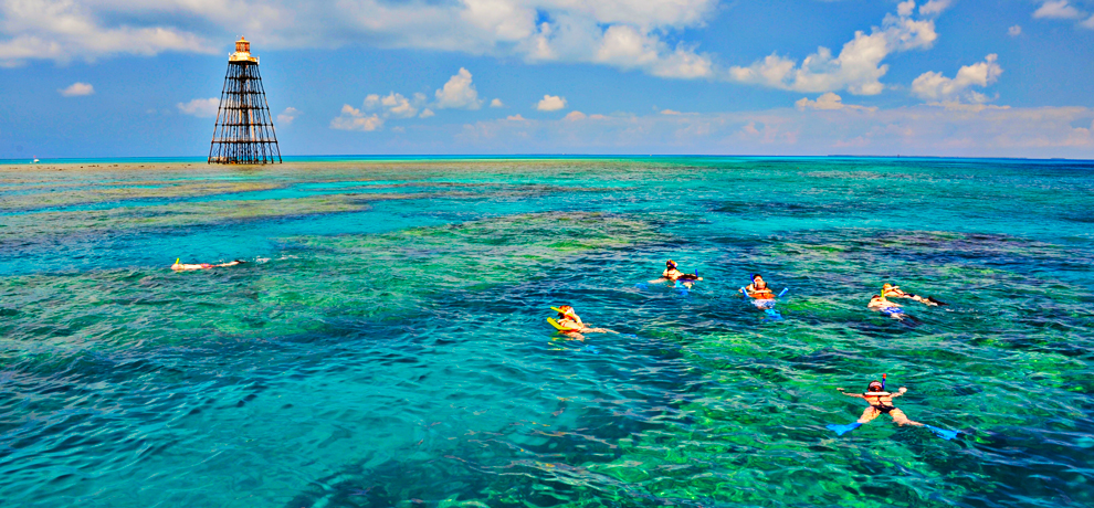 catamaran reef snorkeling best on key west