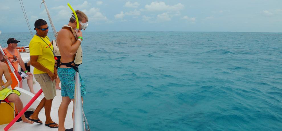 Catamaran Reef Snorkel