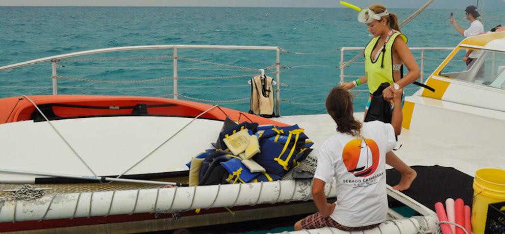 Catamaran Reef Snorkeling