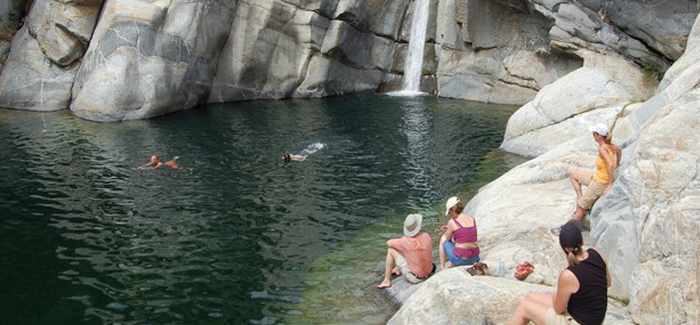 Outfitter Santiago and Waterfalls Tour