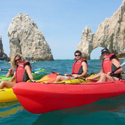 Arch and Lovers Beach Kayak and Snorkel