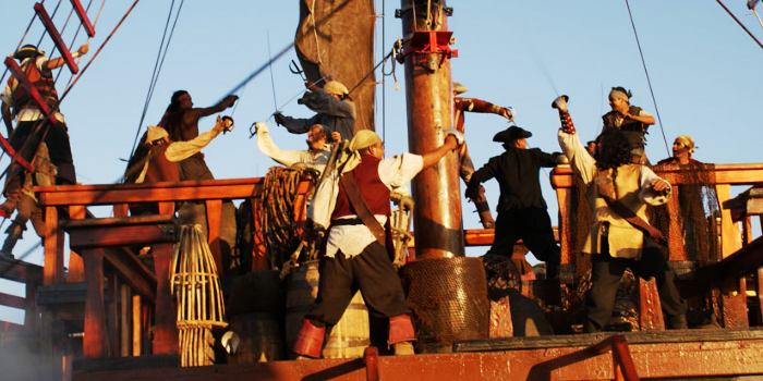 Pirate Treasure Land Voyage