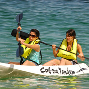 Sea Kayaking or Paddleboard and Snorkeling Combo