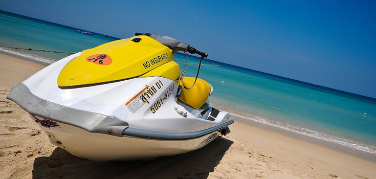 Freeport Jet Ski Tour Around Lucayan Island