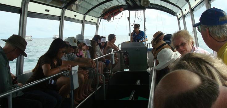 Lucayan Glassbottom Boat Tour