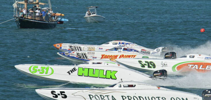 Powerboat Races Sailing Adventure