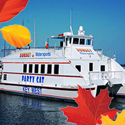 Party Cat Sunset Thanksgiving Dinner Cruise