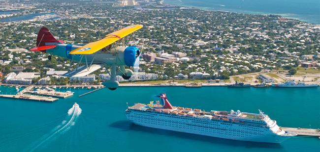 Island Biplane Ride