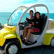 2 Seater Electric Car