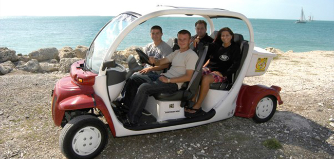 4 Seater Electric Car